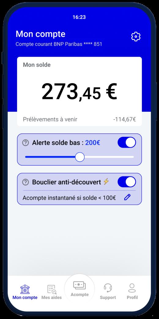 illustration de l'app